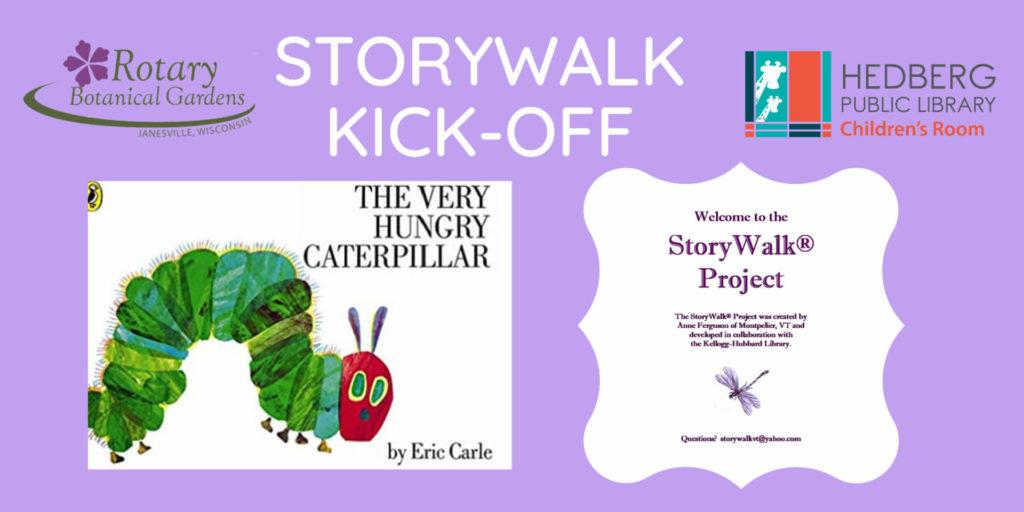 2021 StoryWalk Kickoff banner